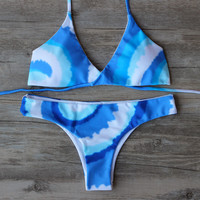 Bandage Bikini Set  Beach Swimwear Swimsuit Bathing Suit