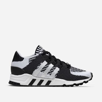 Adidas Originals EQT Support RF Primeknit BY9600 | Core Black/Vintage White | Footwear - Naked