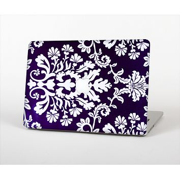 The Blue & White Delicate Pattern Skin Set for the Apple MacBook Pro 15""