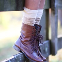 Steve Madden Troopa Military Boots in Brown | Altar'd State