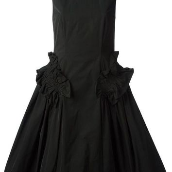 DCCKIN3 Simone Rocha long high-neck dress