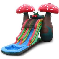 EZ Inflatables 23 ft. Mushroom Water Slide | www.hayneedle.com