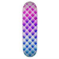 Color Lattice Skateboard Deck