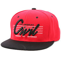 Civil The Los Angeles Civil Snapback in Red