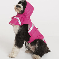 CUSTOM Printed Monogram Dog Rain Jacket