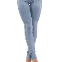 Skinny Jeans - Levanta Cola Butt Lift Jeans - Denim Jeans - $24.99