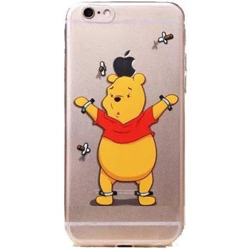 Apple Iphone 6 Winnie The Pooh Clear Case Iphone 6/6s (4.7)