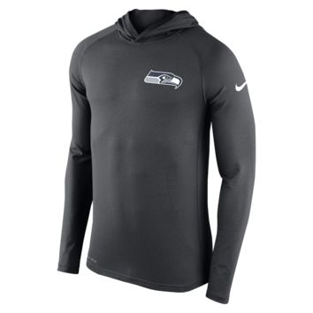 Nike Stadium Dri-FIT Touch Pullover (NFL Seahawks) Men's Hoodie