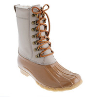 Sperry Top-Sider® for J.Crew two-tone tall Shearwater boots