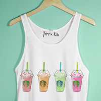 Color Fap Crop Tank Top | Yotta Kilo