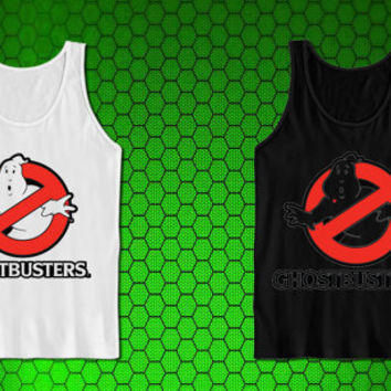 MATTEL GHOSTBUSTER GHOST for tank top mens and tank top girls