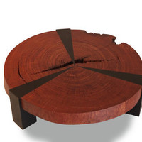 Rotsen Furniture - Bubinga Bolacha Star Coffee Table