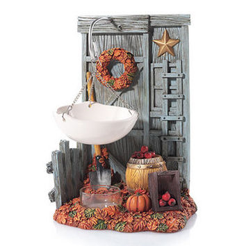 Autumn Inspirations Fall Barn Hanging : Wax Melts Warmer : Yankee Candle