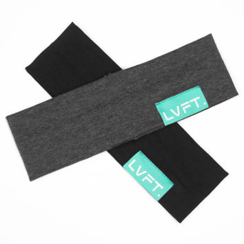 Live Fit. Apparel — Solid Headbands - Teal Tag