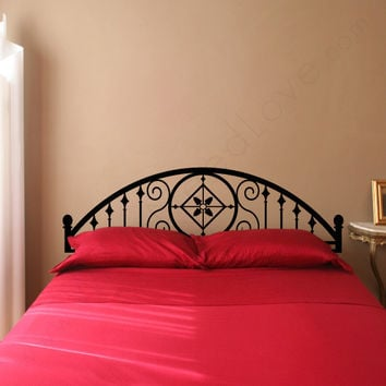 Vintage Adhesive Headboard Wall Decals