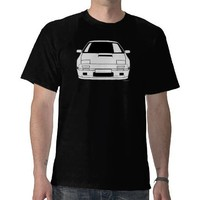 Customised Mazda FC3S RX7 Car T shirt from Zazzle.com