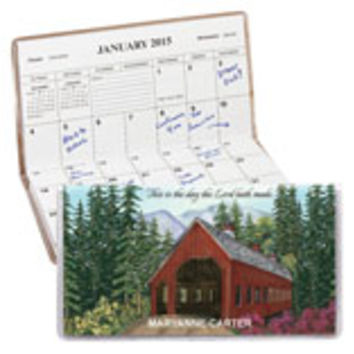 Personalized Covered Bridge Two Year Planner