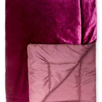 Buy Magenta Velvet Throw online today at Next: Deutschland