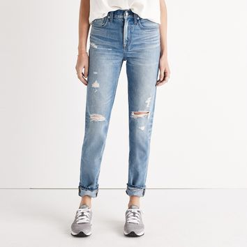 The Perfect Vintage Jean in Chet Wash: Distressed Edition : | Madewell