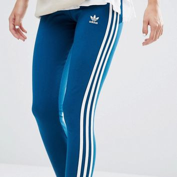 adidas Originals Three Stripe Leggings at asos.com
