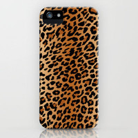 leopard pattern iPhone Case by Sara Eshak | Society6