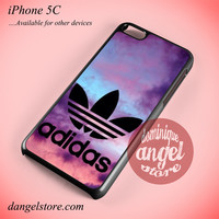 Adidas Sport Colofull Art Phone case for iPhone 5C and another iPhone devices