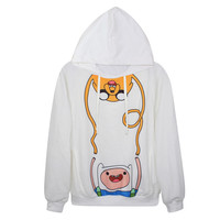 Hoodie With Cartoon 3D Print