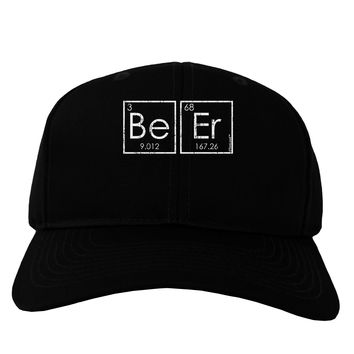 Be Er - Periodic Table of Elements Adult Dark Baseball Cap Hat by TooLoud