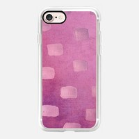 Plum Splotch iPhone 7 Case by Lisa Argyropoulos | Casetify