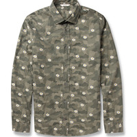 NN.07 Lindh Patterned Cotton Shirt | MR PORTER