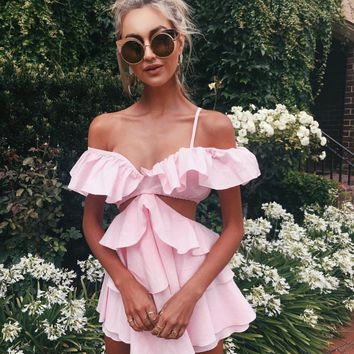 I believe in Pink Playsuit