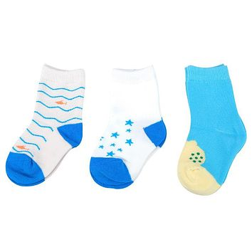 3 Pairs Unisex Kids Socks Infant Baby Boy Girl Cotton Soft Socks Children Kids Stripe Socks Winter