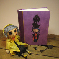 Coraline notebook/journal : Handmade