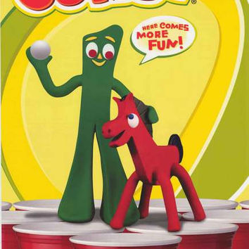 Gumby Beer Pong Poster 24x36