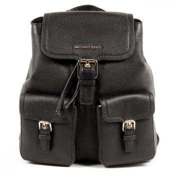 Michael Kors Womens Backpack SUSIE 35F7GIUB3L BLACK