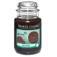 Yankee Candle® Girl Scout Cookies® Thin Mints® Large Jar Candle