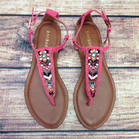 ANTIGUA BAY SANDAL IN FRUIT PUNCH