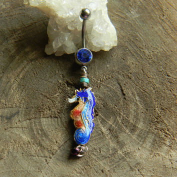 Sea Horse Belly Ring