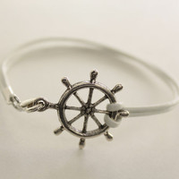White Nautical Bracelet