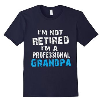 Funny Grandpa Retirement Shirt For Retirement Party or Gift