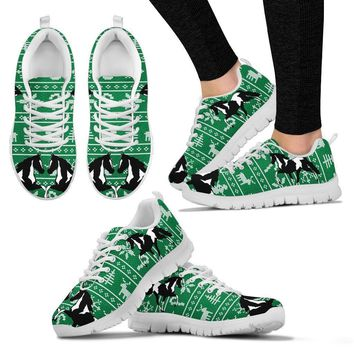 Spotted Saddle Horse Christmas Running Shoes For Women- Free Shipping