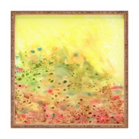 DENY Designs Rosie Brown Jeweled Pebbles Square Tray