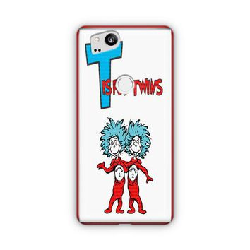 Thing 1 And Thing 2 Google Pixel 3 XL Case | Casefantasy