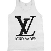 Lord Vader-Unisex White Tank