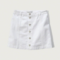 Womens Denim A-Line Skirt | Womens Clearance | Abercrombie.com