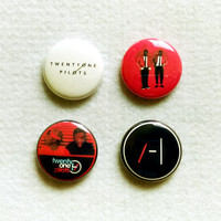 21 Pilots Pin Set (4 Buttons)
