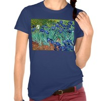 Irises Vincent van Gogh Painting Shirt