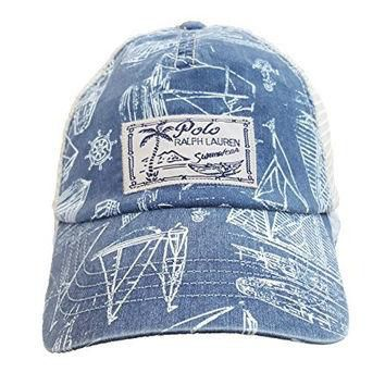 Polo Ralph Lauren Men's Trucker Mesh Cap