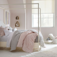 6482 Summerset Taupe - Metal Poster/Canopy Bed