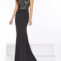 Sleeveless Floor Length Dress by Angela and Alison